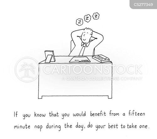 power nap cartoon
