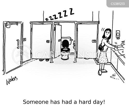 busy day cartoon