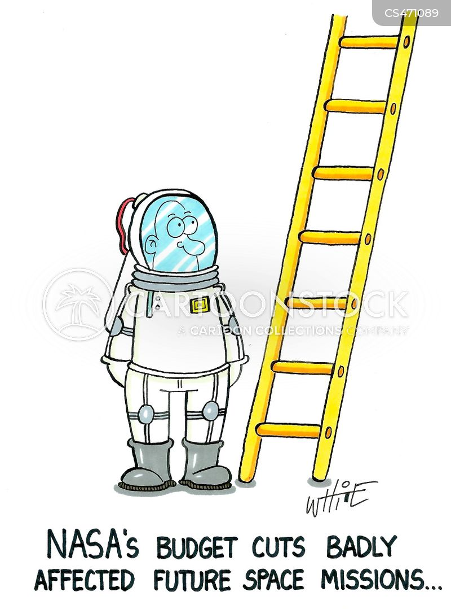 space mission cartoon