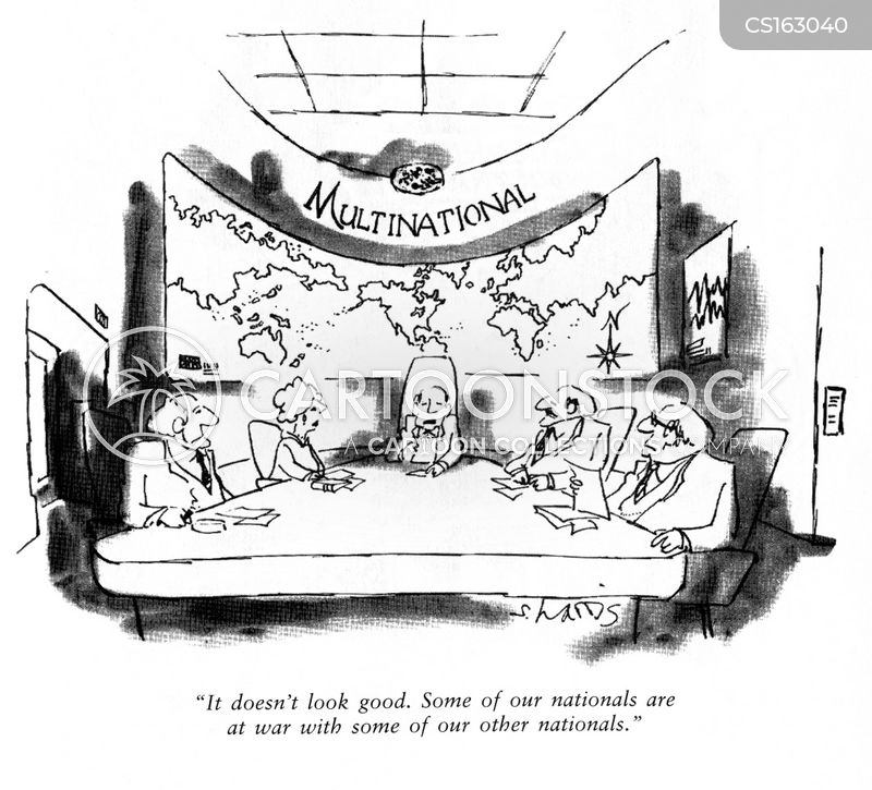 business competitor cartoon