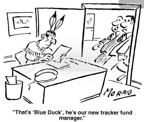 blue duck cartoon