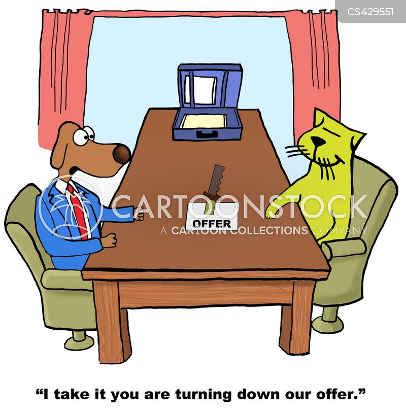 business offers cartoon