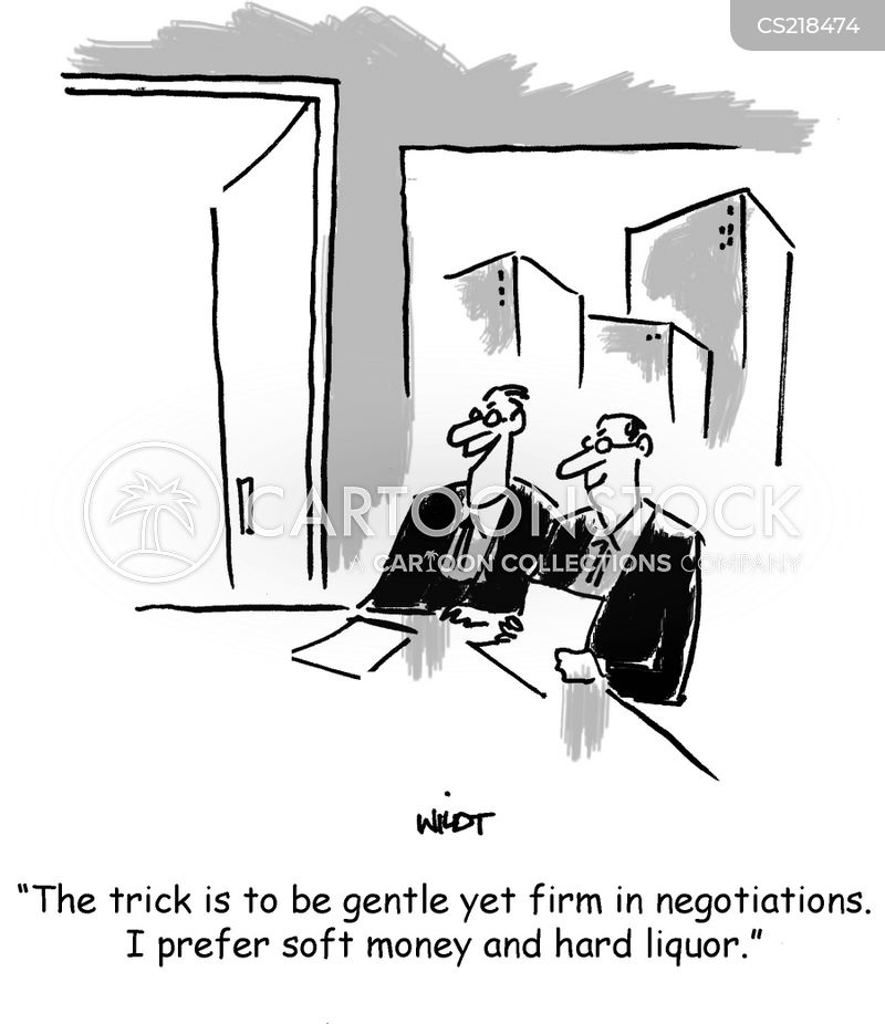 Soft Money Cartoons and Comics - funny pictures from CartoonStock
