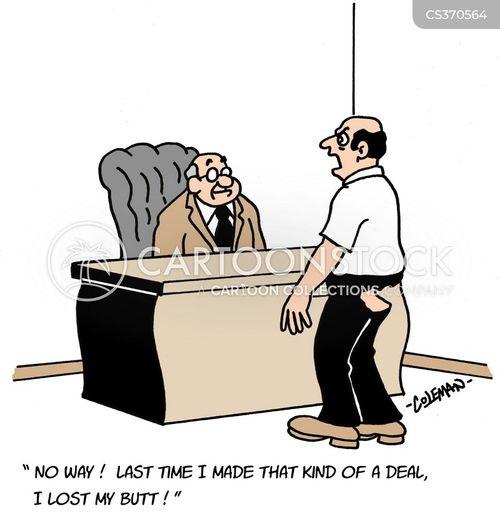 dealings cartoon