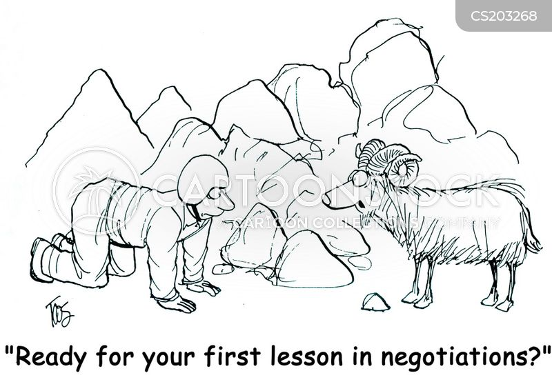 mountain life cartoon