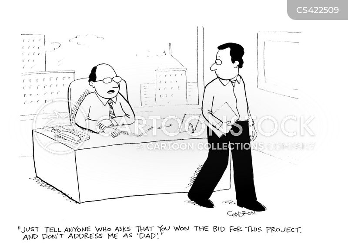 nepotists cartoon