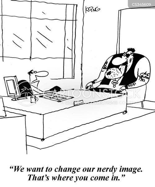 image change cartoon