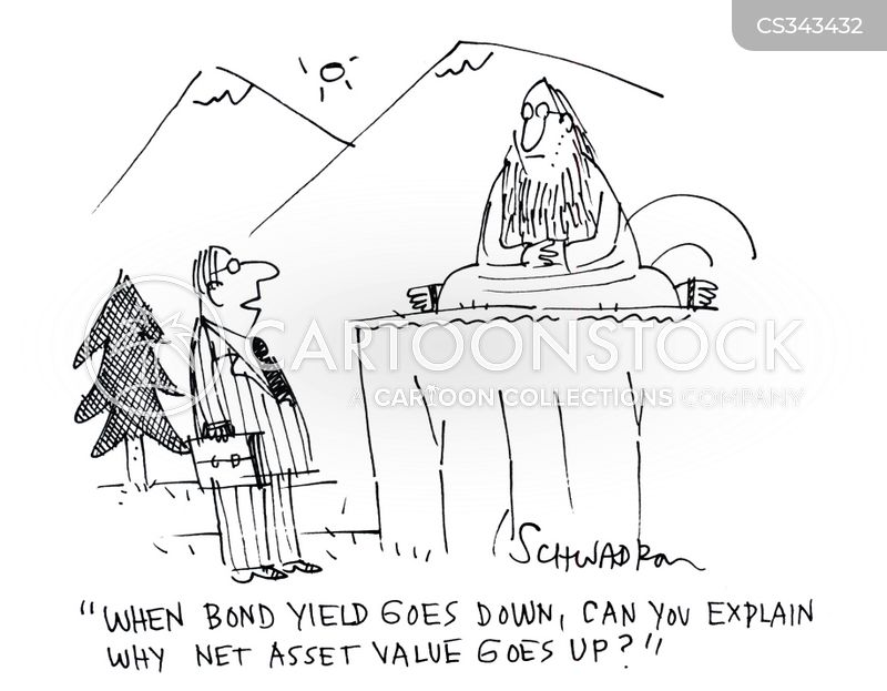 bond yield cartoon