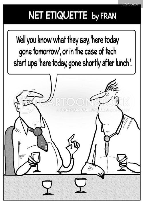 tech company cartoon