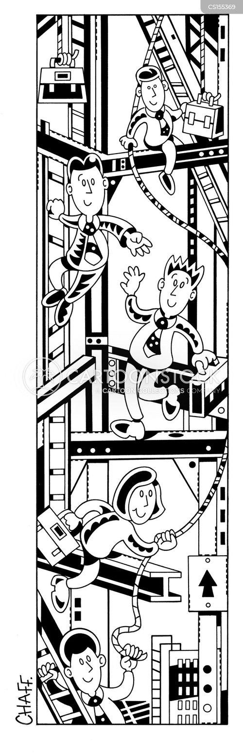 Building Work Relationships Working Relationships Cartoon