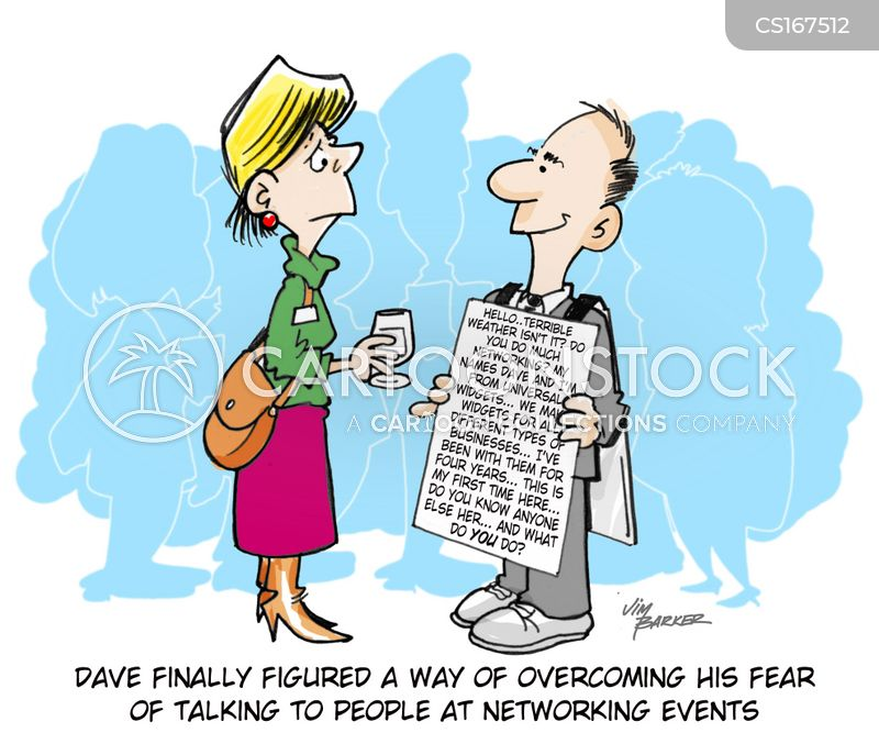 overcoming cartoon
