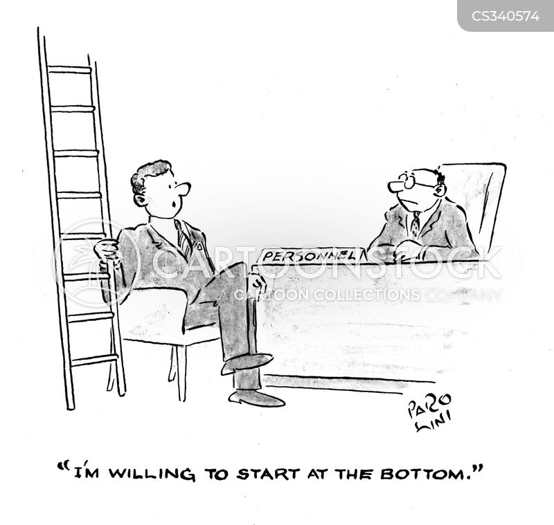work your way up cartoon