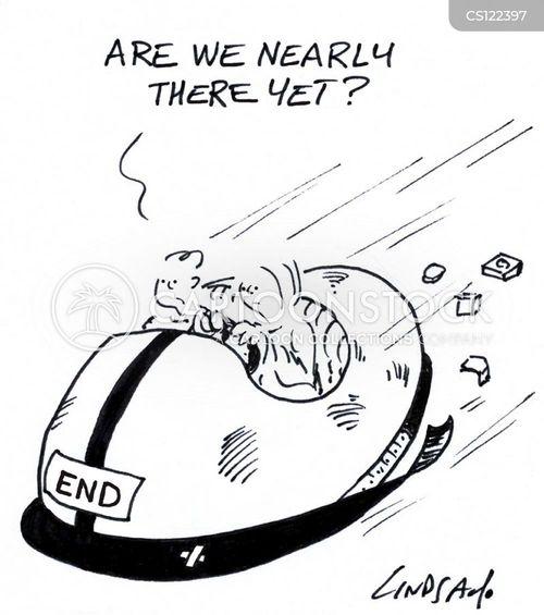 endings cartoon