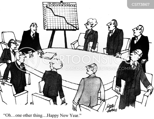 new years celebrations cartoon