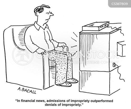 impropriety cartoon