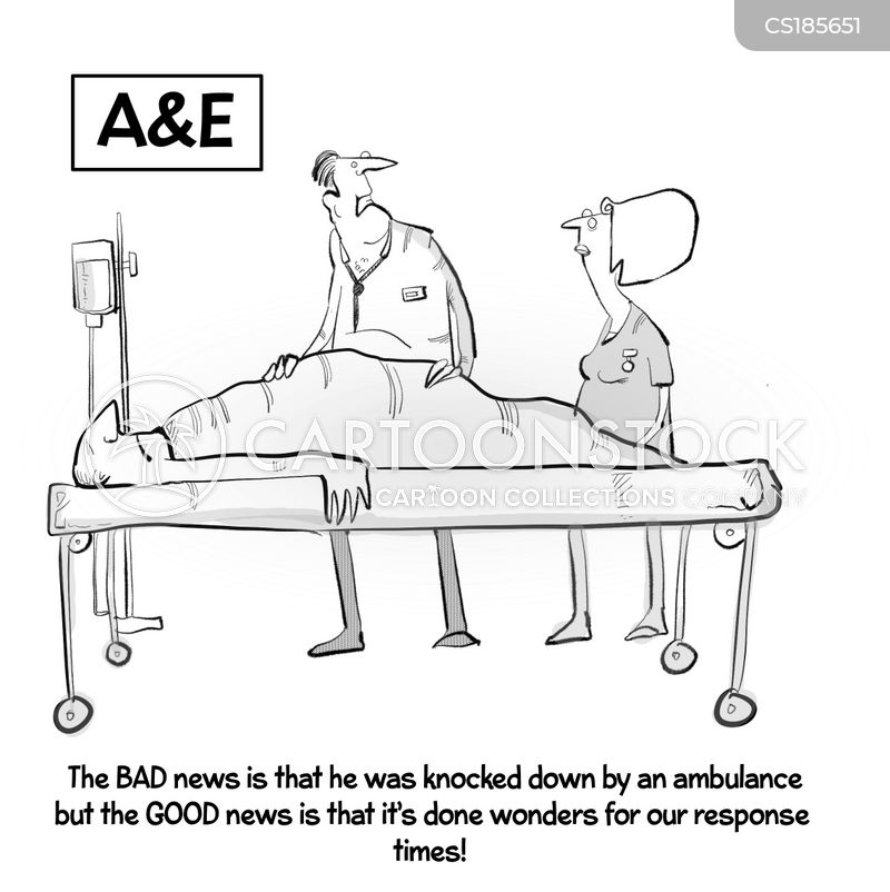 nhs cut cartoon