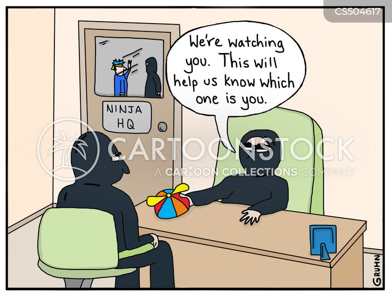 ninja warrior cartoon