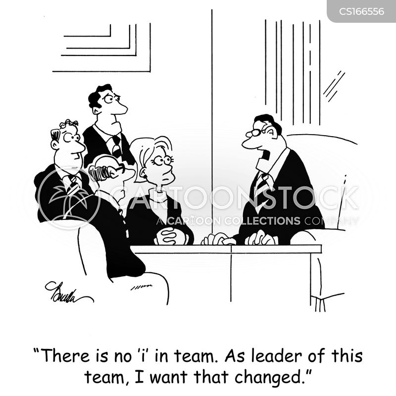 Team-player Cartoons and Comics - funny pictures from CartoonStock