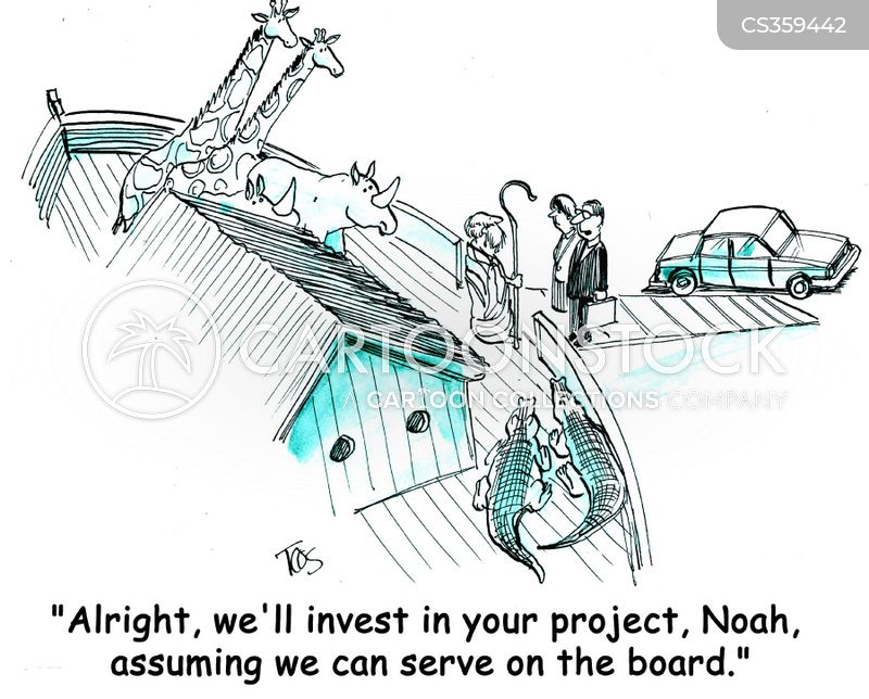 business capital cartoon