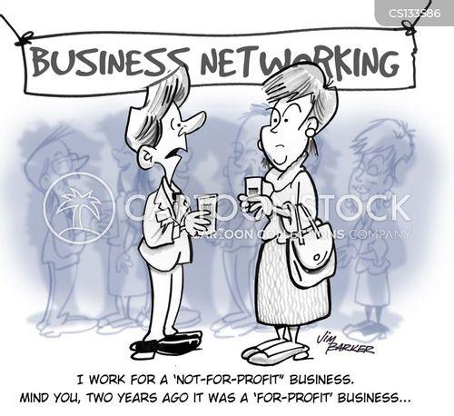 networks cartoon