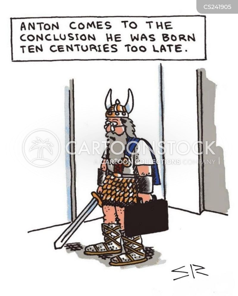 born too late cartoon