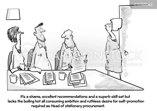 job requirements cartoon