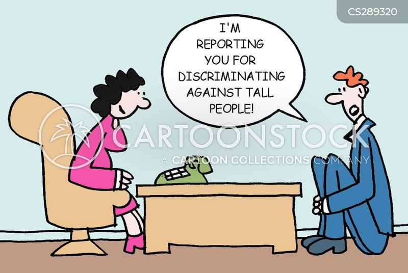 tall people cartoon