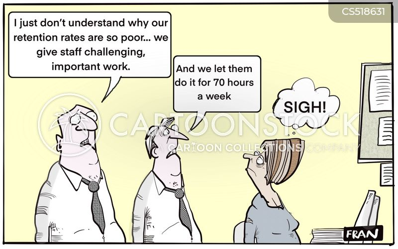 staff retention cartoon