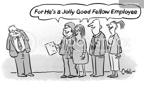 fellow employee cartoon