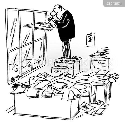 Desk Space Cartoons Cartoon Funny Picture