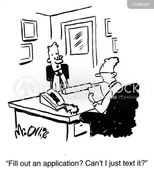 applying cartoon