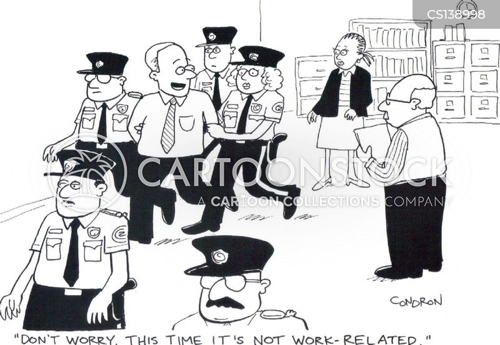 work related cartoon
