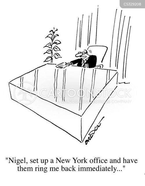 business expansion cartoon