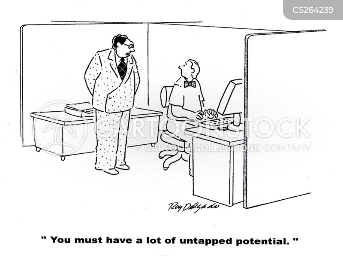 typing skills cartoon