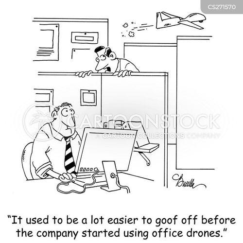 surveillances cartoon