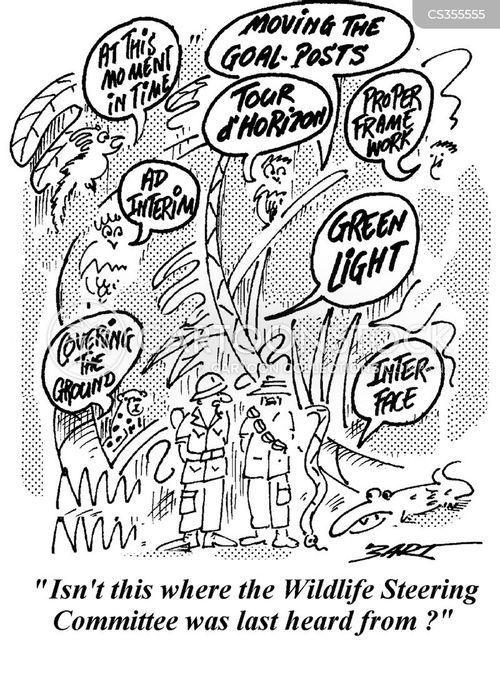 steering committee cartoon