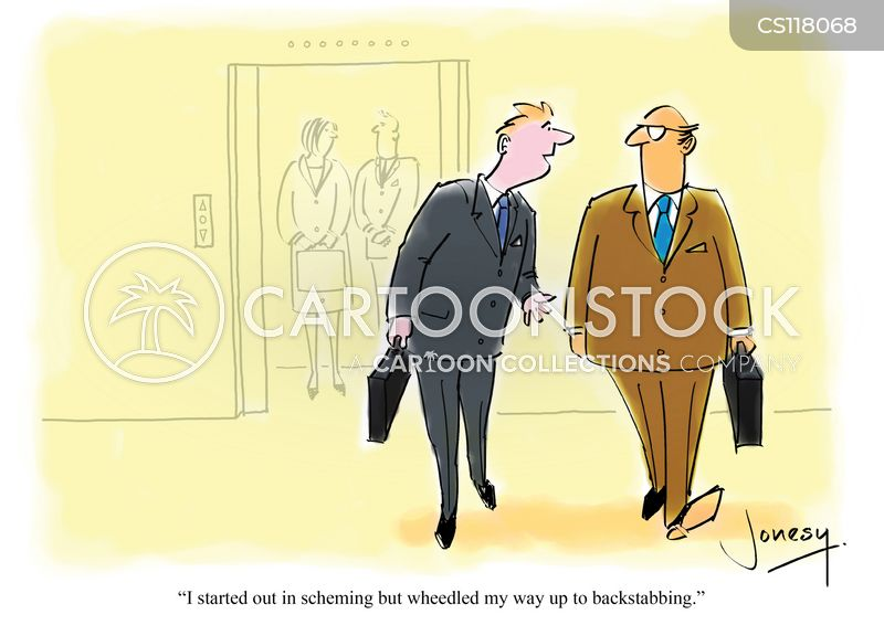 backstabbers cartoon