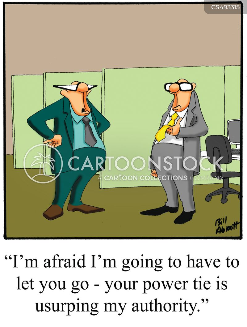 feeling threatened cartoon