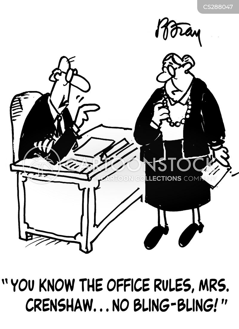 Office Rules Cartoons And Comics Funny Pictures From