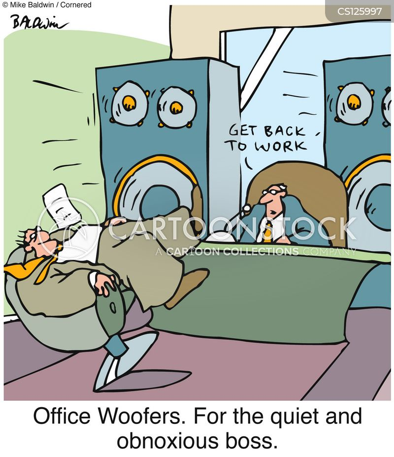 woofer cartoon
