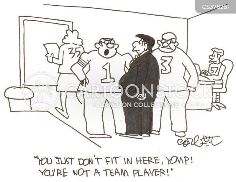 office team cartoon