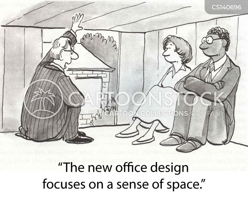 Office Designs Cartoon 2 Of 5
