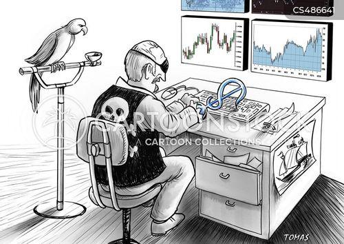 brokering cartoon