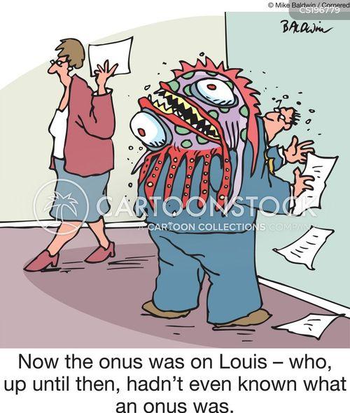 parasites cartoon