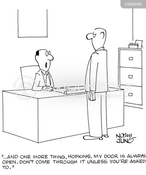 communications policy cartoon