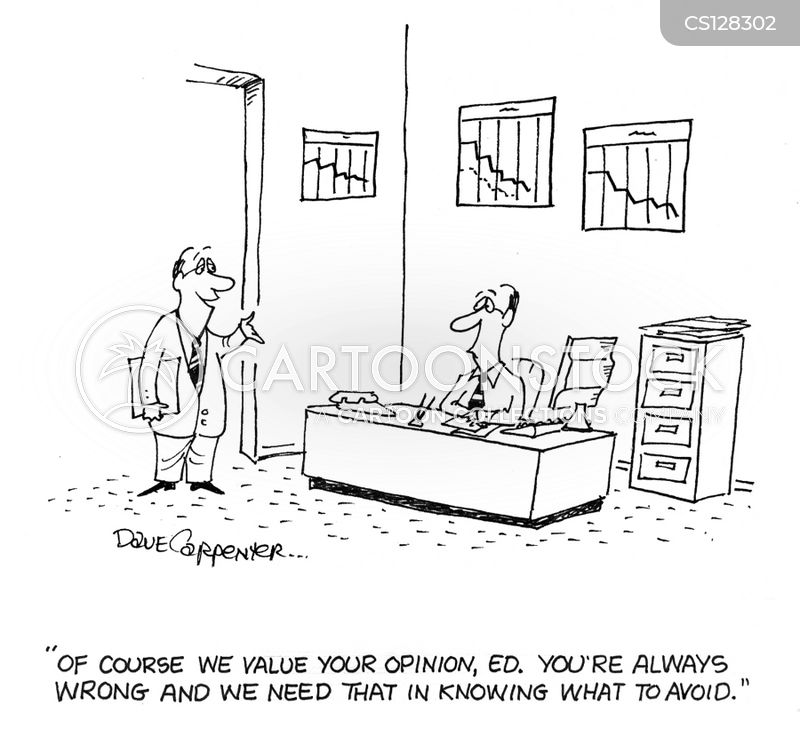 valued opinion cartoon