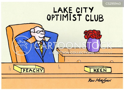 thinking positively cartoon