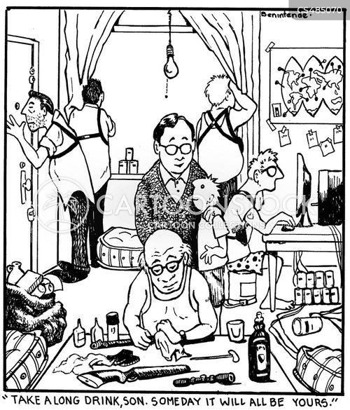 criminal organisation cartoon
