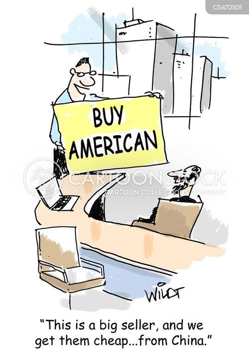 american industries cartoon
