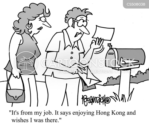 hong kong cartoon